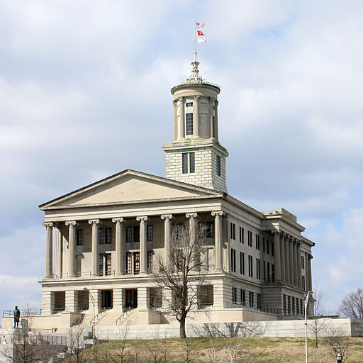 The Capitol Building in Tennessee