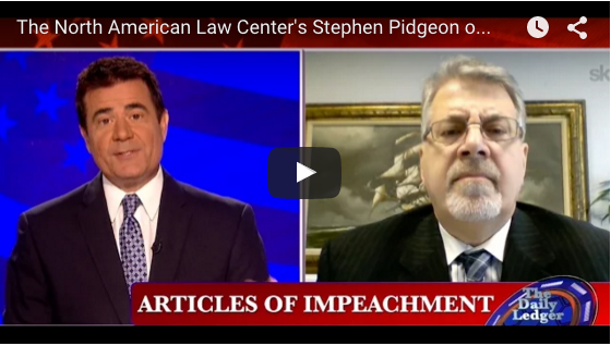 North American Law Center's Stephen Pidgeon on OWNN TV: IMPEACH NOW