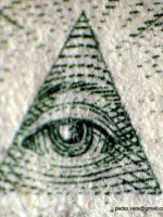 """The """"New World Order Eye,"""" by Pedro Vera. 